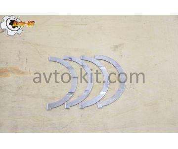 Вкладыши осевого разбега коленвала (Полукольца упорные коленвала) (компл 4 шт) FAW-3252