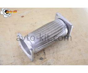 Гофра (металлорукав) глушителя длинная L=320 D=150/125 Shaanxi