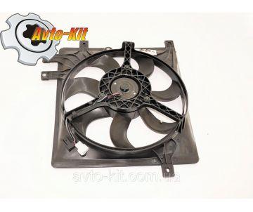 Вентилятор охлаждения L (5 креплений) Geely CK/MK